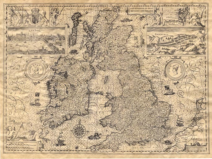 old-map-great-britain