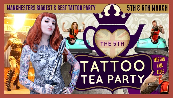 Тату-шоу Tattoo Tea Party 2016 в Манчестере