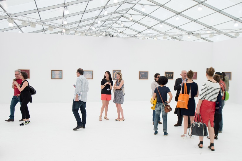 Frieze Art Fairs-2016 в Риджентс-парке