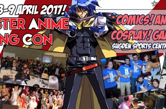 Manchester Anime @ Gaming Con 2017